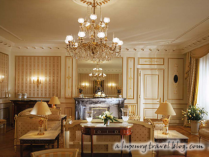 Suite of the week: Imperial Suite at Beau-Rivage Palace, Lausanne, Switzerland