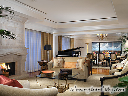 Presidential Suite at The Beverly Hills Hotel