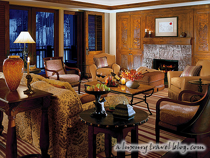 Presidential Suite at the Four Seasons Resort Jackson Hole