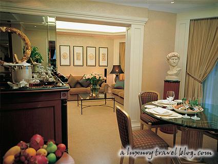 Premier Suite at the Langham Hotel Hong Kong