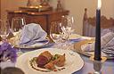 Dining at the Romantik Hotel Tennerhof