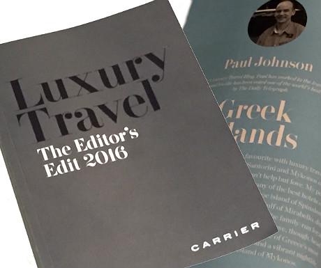 Luxury Travel Editors Edit 2016