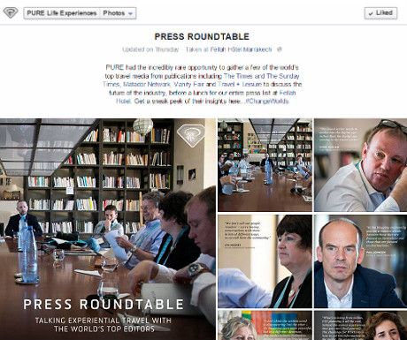 Press roundtable
