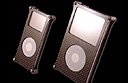 Carbon fibre iPod cases