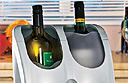 Hinari Cellar Vie dual bottle wine chiller and warmer