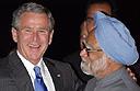 President Bush in New Delhi