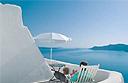 Sea views in Santorini