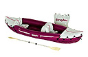 Inflatable kayak from Sevylor