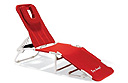 World's first ergonomic beach lounger?