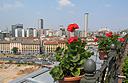 Hotel Principe di Savoia Milano rooftop view