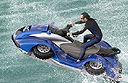 Quadski - the world's first high speed amphibian quadbike