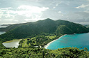 New menus on Guana Island, BVI