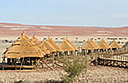 Sossus Dune Lodge in Namibia - on schedule
