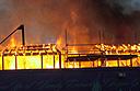 Cutty Sark ravaged by fire