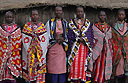 'Maasai Mamas' Beaded Stars for Christmas