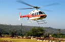 Private helicopter shuttle service from Kitron Galilee, Israel