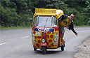 Sri Lanka's first tuk-tuk rally