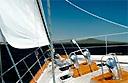 Luxury yacht race in Barcelona