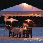 Beach barbecue at the Tanjung Rhu Resort