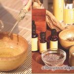 Spa oils and herbs
