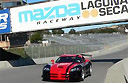 Racing the wind at Laguna Seca