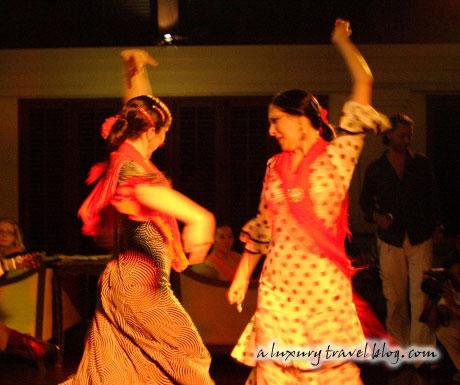 Flamenco dancers at The Pavilions Phuket