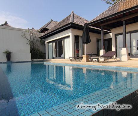 An ocean view villa at The Pavilions, Phuket
