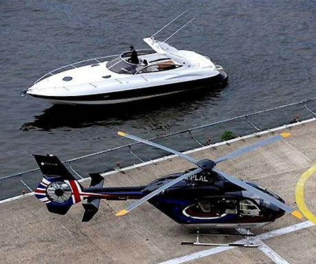 Cruise the Thames in style
