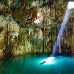 A stunning underground oasis in Mexico's Yucatan Peninsula
