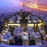 Sky high in Bangkok, Thailand