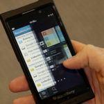 A sneak peek at the new BlackBerry 10
