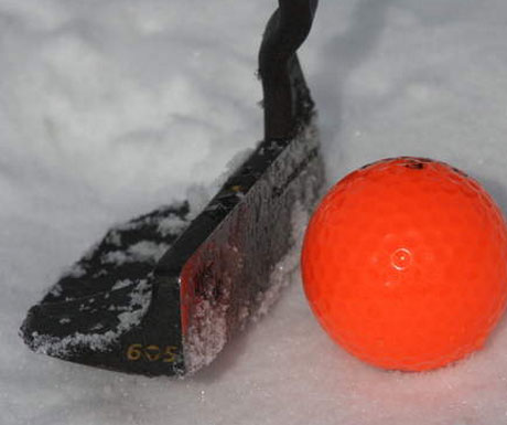 Ice Golf - Luxury Winter Sport