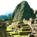 Parachuting off Machu Picchu