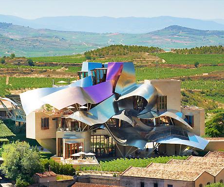 Luxury in the la rioja region drink bathe and play in for Hotel luxury la rioja