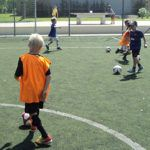 New football academy for children at Sani Resort, Greece