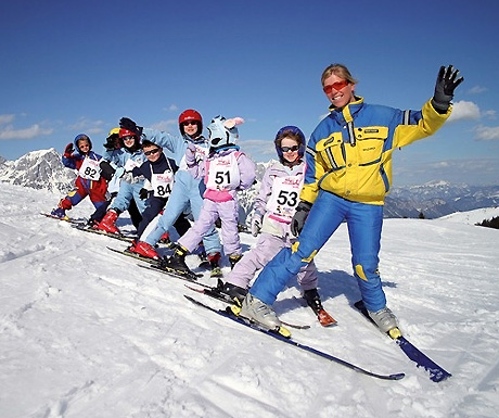 Skiing tuition