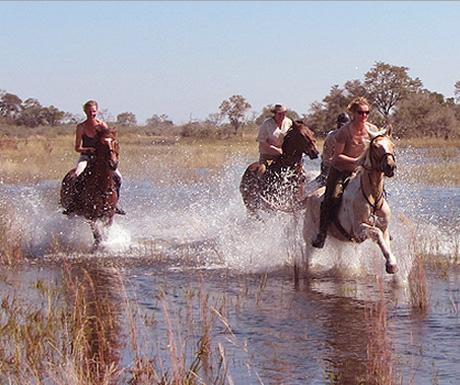 Botswana on horseback