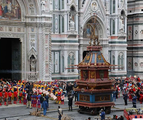 Florence at Easter