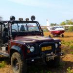 New airstrip at Tongole Wilderness Lodge, Malawi