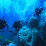 Photograph of the week: Undersea blessing at Villasimius, Sardinia
