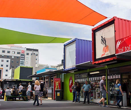 Christchurch Container Mall