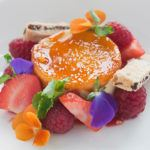Recipe of the week: Cr�me br�l�e with Summer fruits and Garibaldi biscuit