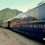 Riding the Orient Express Hiram Bingham train to Machu Picchu
