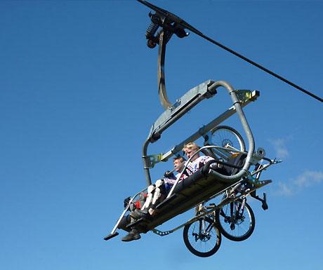 Les Gets lift