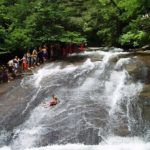 Sliding Rock at Pisgah National Forest, North Carolina