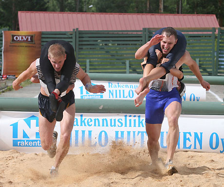 The Wife Carrying World Championships