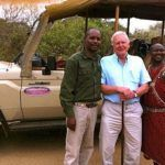 Where Sir David Attenborough filmed some of the footage for the BBC's 'Africa'