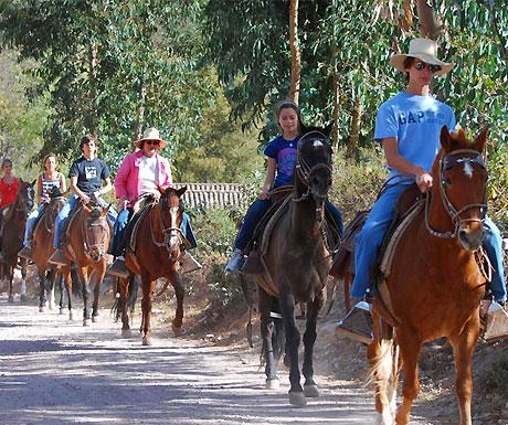 Sol y Luna Hotel, Urubamba horse ride