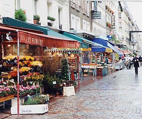 Rue Cler Market Street, Paris