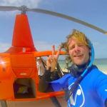 From skydiver to scubadiver… in seconds!